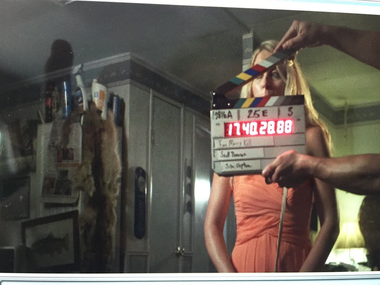 BEHING THE SCENES: Janine plays female lead, Tiffany Forbes in horror film F***, Marry, Kill