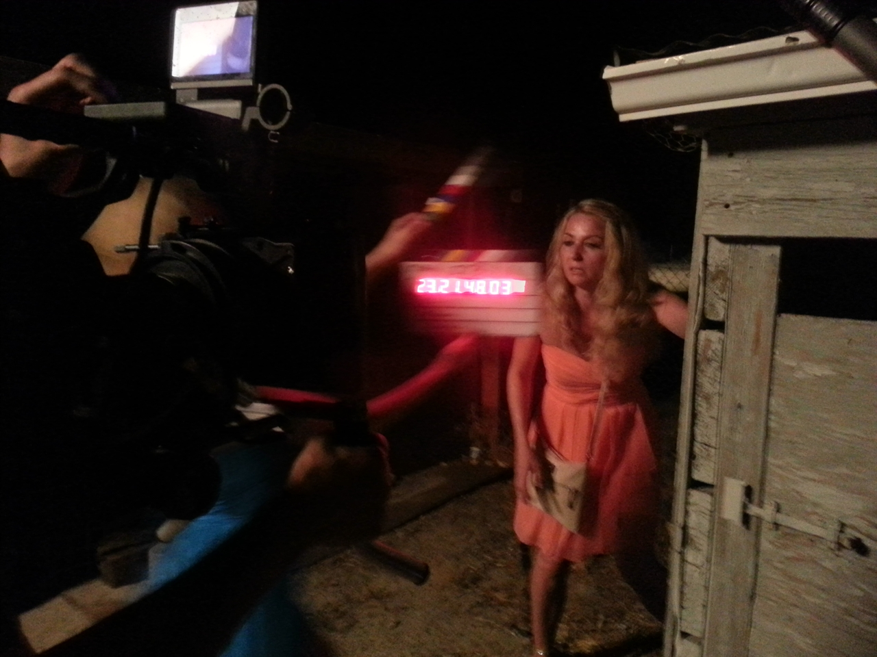 BEHIND THE SCENES: Janine plays female lead, Tiffany Forbes in horror film F***, Marry, Kill