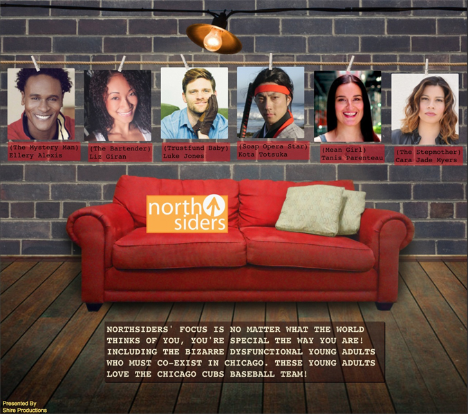 2016; NorthSiders – TV Series (PRE-PRODUCTION)
