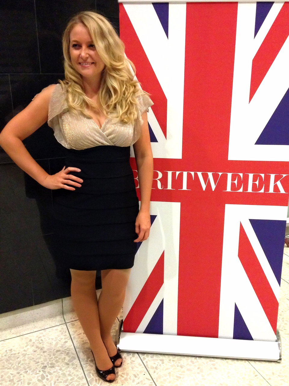 Janine attends one of Brit Weeks events at Filmmaker event taking place in Los Angeles.