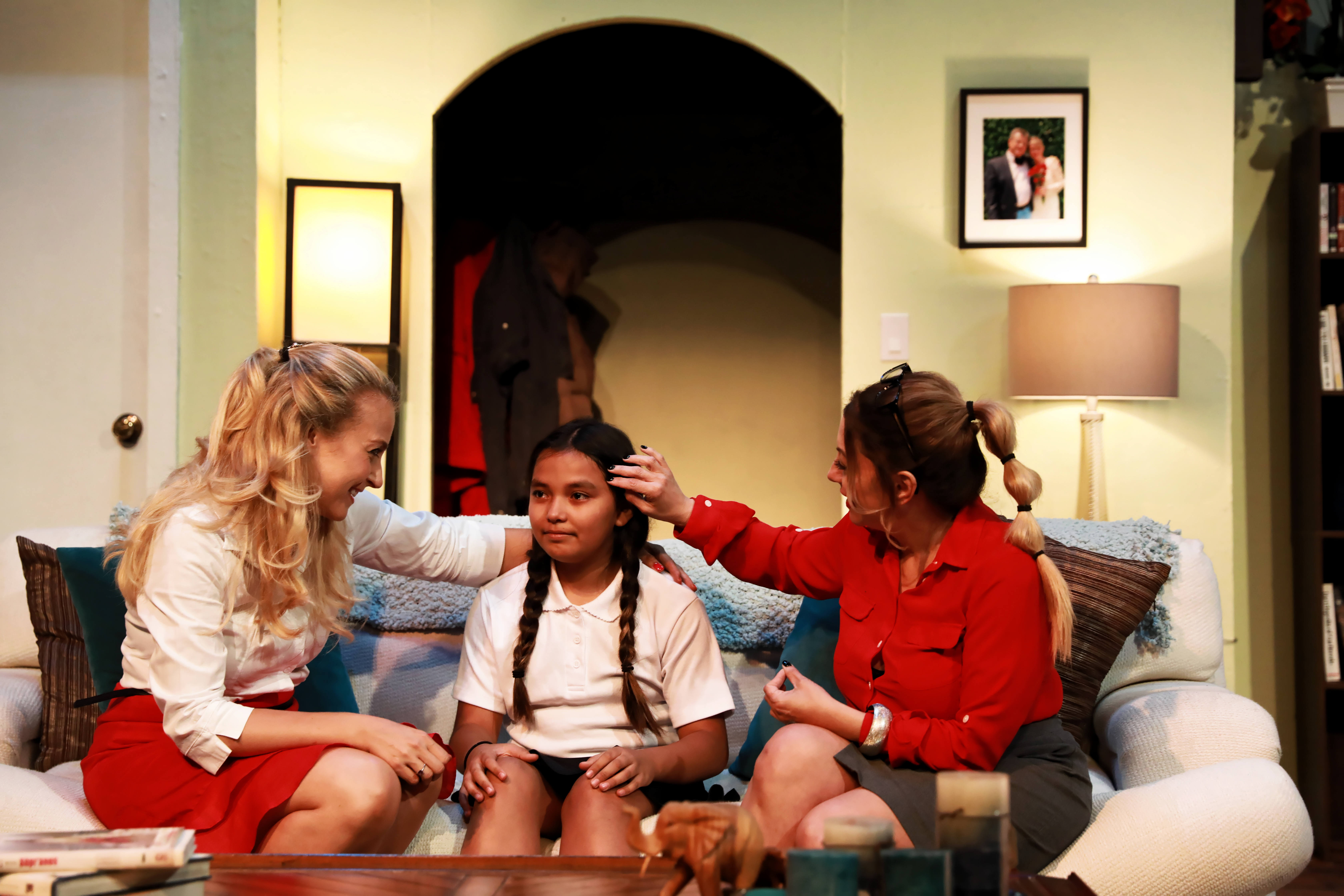 Still of Janine as Samantha in stage play Turn Off The Lights in Hollywood.